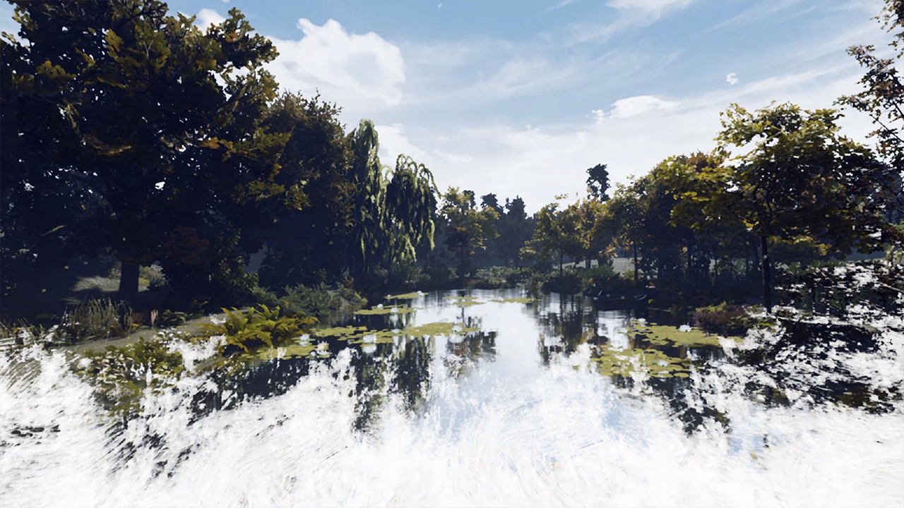 MOONSHOT | Claude Monet, The Water Lily Obsession: How Virtual Reality Creates a Magic Moment