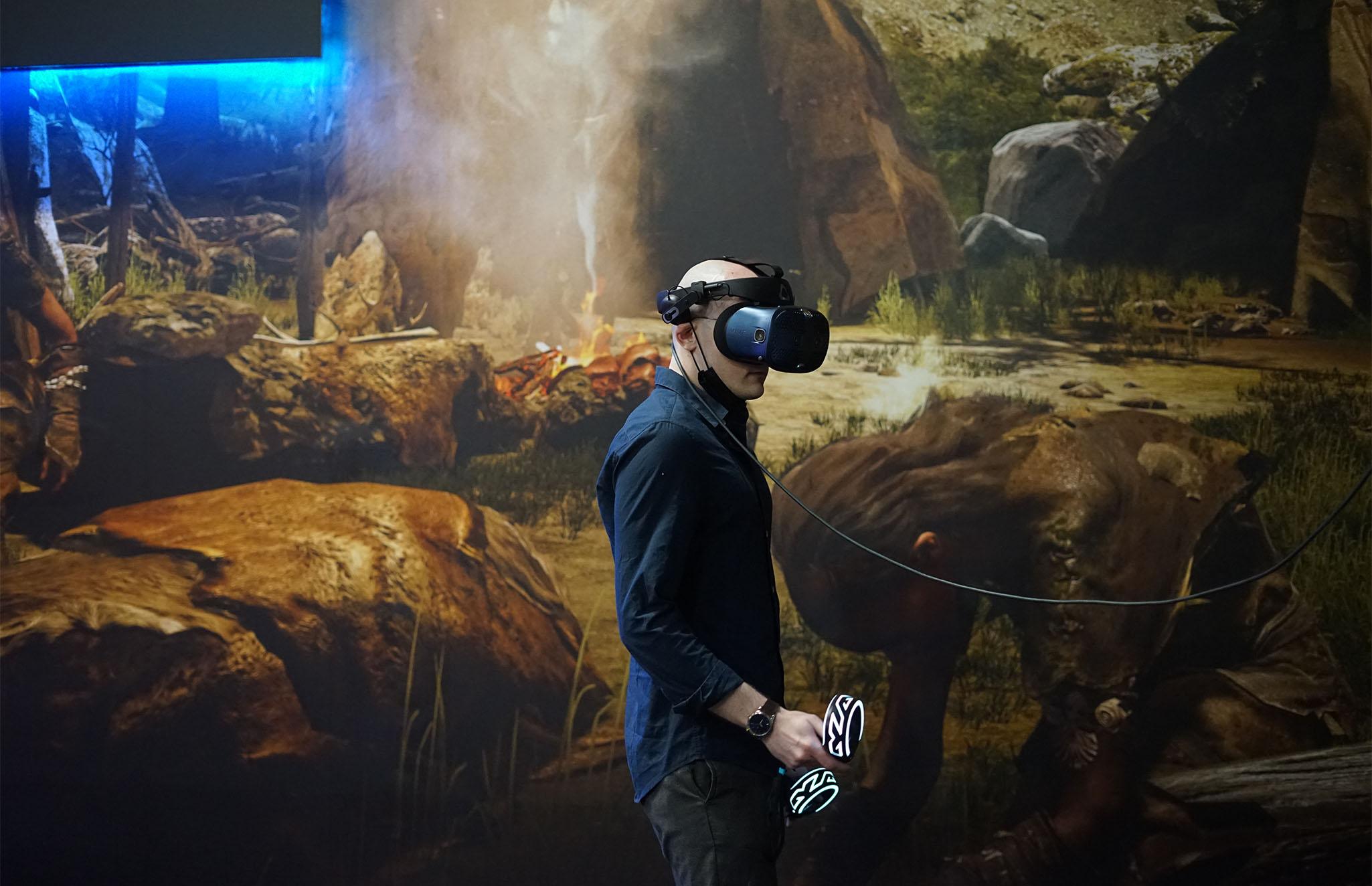 Création d'un espace dédié à la réalité virtuelle au Paléosite de Saint-Césaire