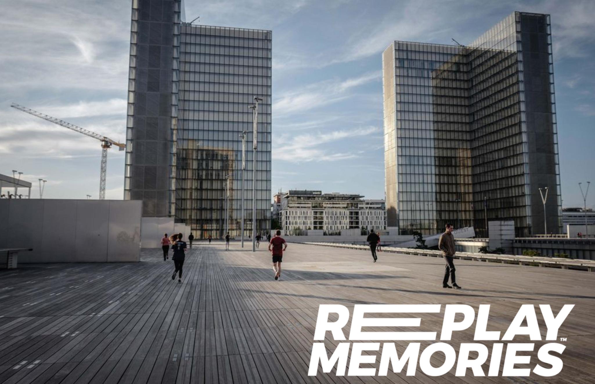 REPLAY MEMORIES présentée à la Bibliothèque François-Mitterrand (BNF)